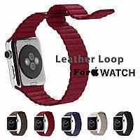 Ремешок Apple watch 42mm Leather Loop /mixed color/