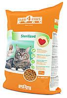 Сухой корм Клуб 4 Лапы для кастрированных котов и стерилизованных кошек, 11кг