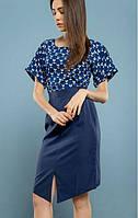 Платье-миди MR 229 2144 0216 Dark Blue
