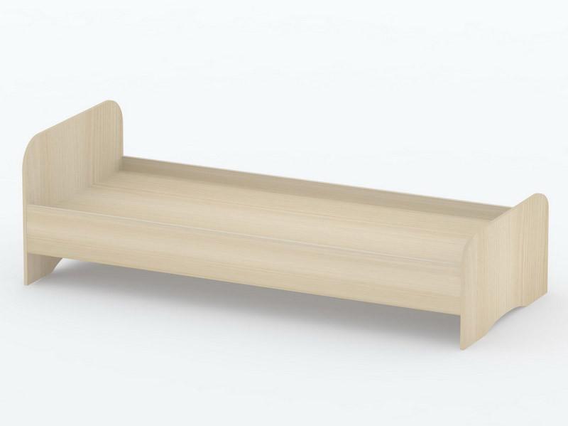 Ліжко односпальні в спальню/дитячу КР-7 Тіса меблі