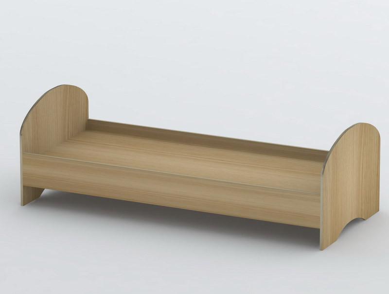 Ліжко односпальне в спальню/дитячу КР-8 Тіса меблі