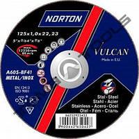 Круг зачистной по металлу Norton Vulcan 125 х 6.4 х 22.23