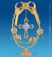 """Фигурка-композиция """"Крест в яйце"""" 14,5 см., Crystal Temptations, США"""
