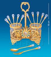 Набор десертных вилочек и ложечек (Юнион) AR-1344