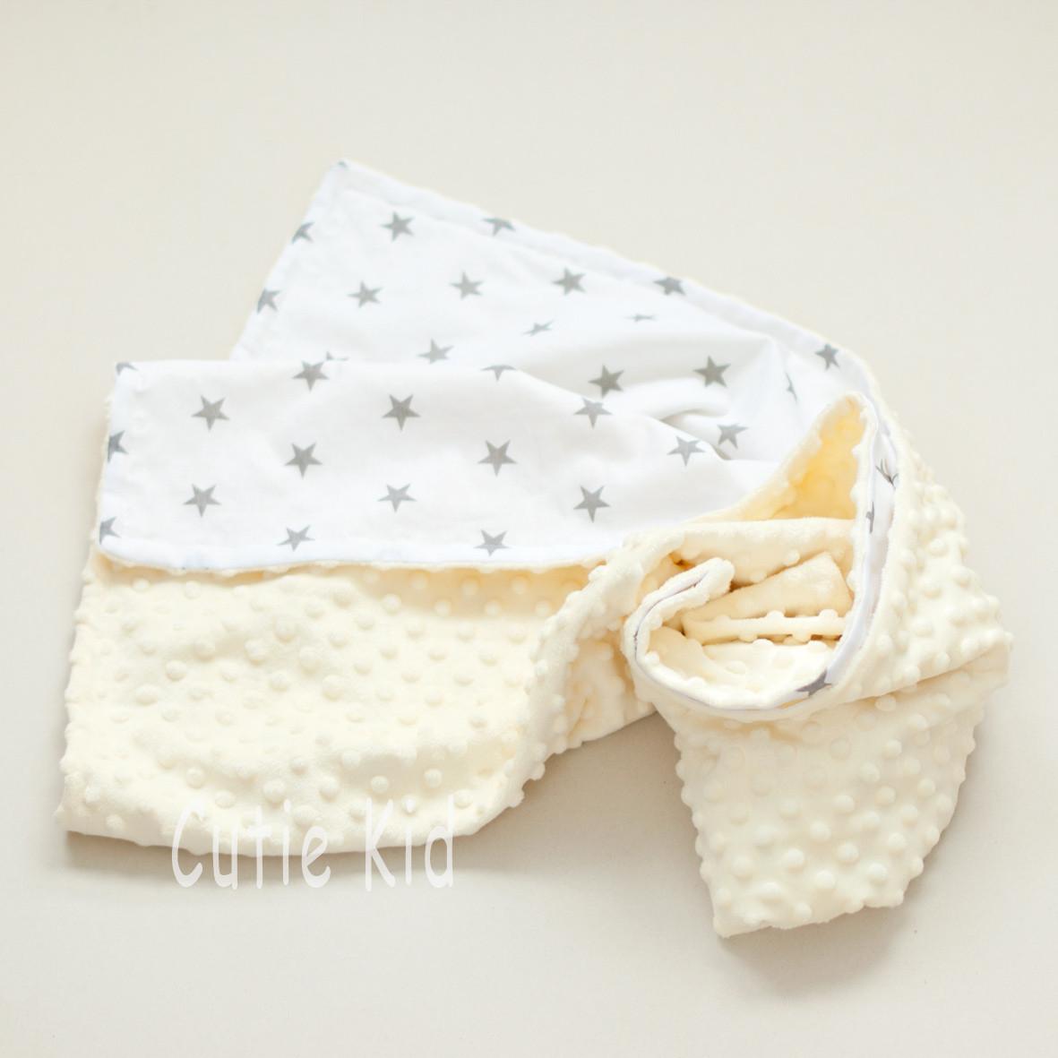 Конверт-плед на выписку для новорожденных