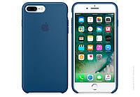 Чехол iPhone 7 Plus Silicone Case copy /ocean blue/