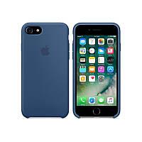 Чехол iPhone 7 Silicone Case /ocean blue/