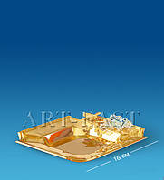 Пепельница (Юнион) AR-4399-SI/G