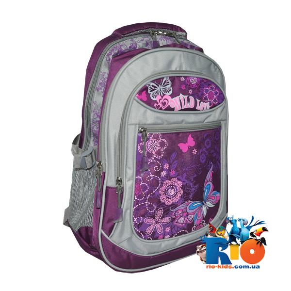 Школьный рюкзакNew Love, для девочек (мин. заказ - 1 ед)