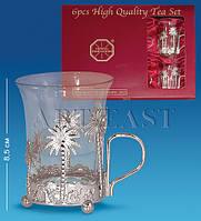 Чайный набор серебр. (Юнион) AR-1208
