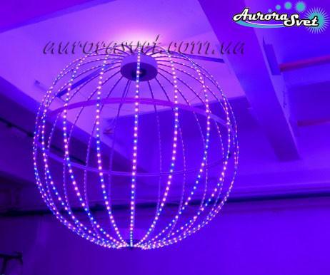 Светодиодная сфера/полусфера AS-3, 1240мм, 20 лучей, 60пикс/луч