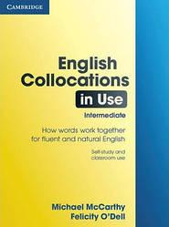 English Collocations in Use Intermediate з відповідями