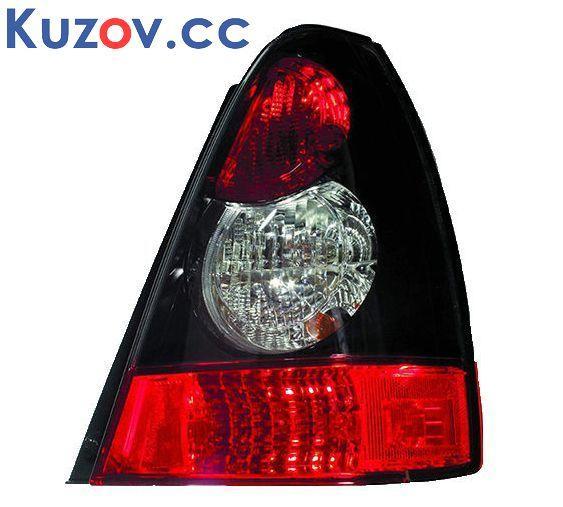 Задний фонарь Subaru Forester 06-08 левый (Depo) 84201SA370