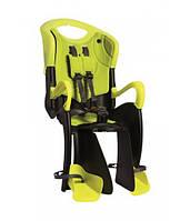 BELLELLI Tiger Standart B-fix HI-Vision Дитяче велокрісло до 22 кг SAD-96-49 салатовий/чорний