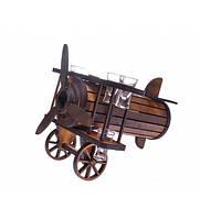 Мини бар Самолет с рюмками (300*370*330мм.) дер.