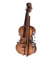 Мини бар Скрипка с рюмками (495*200*230мм.) дер.