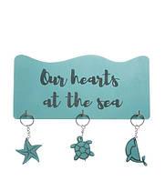 """Ключниця """"Море"""" 25см*12см*1,2см"""
