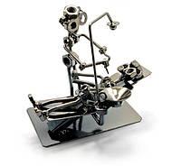 "Техно-арт статуэтка ""Стоматолог"" Темно-серый"