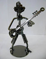 "Техно-арт статуэтка ""Гитарист"" Темно-серый"