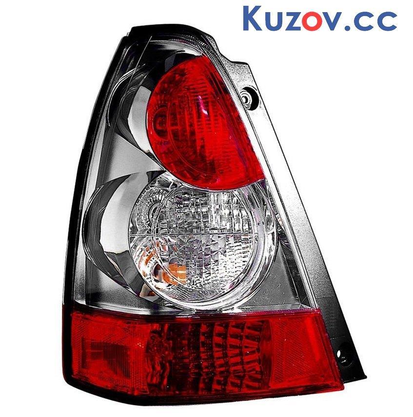 Задний фонарь Subaru Forester 06-08 правый (Depo) хром 84201SA160