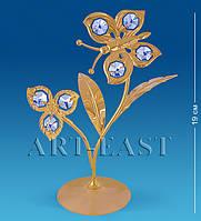 "Фигурка ""Бабочка на цветке"" 19 см.(Юнион) AR-2633"