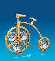 """Фигурка """"Велосипед"""" 8x2,5x5,5 см., Crystal Temptations, США"""