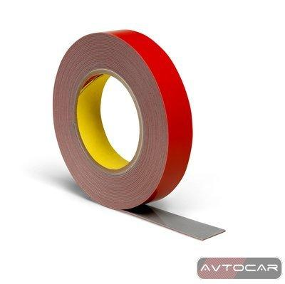 Скотч двухсторонний 3M Automotive Acrylic Foam Tape, ширина 6мм, длина 2м, 6008F