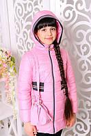 Куртка демисезонная для девочки «Валерия», розовая