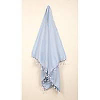 Полотенце Barine Pestemal - Engin Blue 100*180