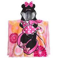 """Детское полотенце - пончо для девочек """"Минни Маус"""" 2726045590156P"""
