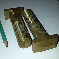 Болт для станочных пазов с прямоугольной головкой М24х100 нержавеющий DIN 188 производство ТАНТАЛ сталь 08Х18Н10Т