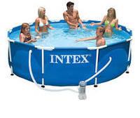 Каркасный бассейн Intex 28202 (аналог 28702) размер 305 х 76 cм