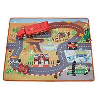 Детский игровой развивающий коврик для мальчика Тачки детские машинки , Pixar Cars 6102036511853P