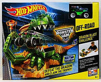 Игровой набор Дракон, Hot Wheels/Хот Вилс CCP74 Автотрек Monster Jam