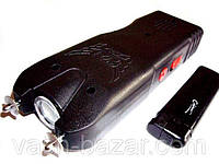 Электрошокер фонарь Усиленный Оса JA-704 reinforced удар 2 (шокер WS 704)