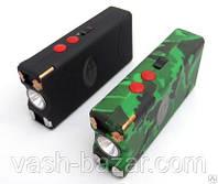 Электрошокер фонарь с зажигалкой 3 в 1 Оса WS 1128-3 TYPE Корея. Шокер Оригинал