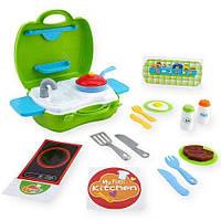 """Игровой набор """"Переносная кухня-чемоданчик"""" Тойсрус Bruin My Carry Along Kitchen Set Toysrus 5F62E0F"""