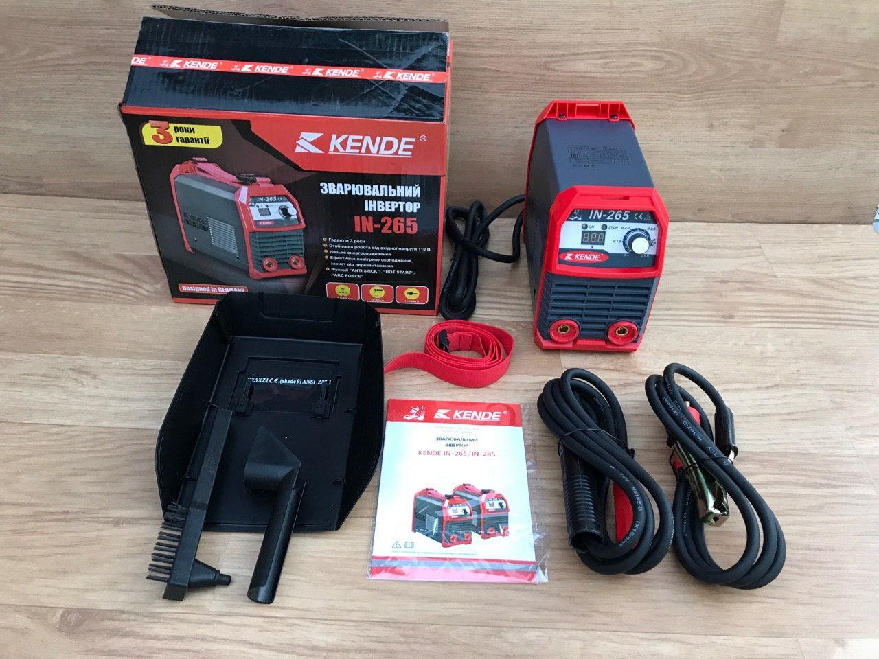 Сварочный инвертор KENDE IN-265