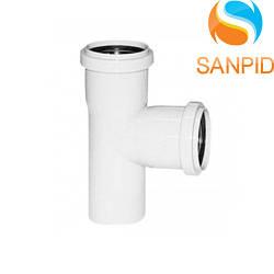 Трійник для внутрішньої каналізації Wavin 32х32/90°