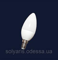 Лампочка LED 7W E-14 (теплый,нейтральный)
