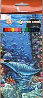 """Карандаши цветные Умка """"Подводный мир"""" 12 цветов"""