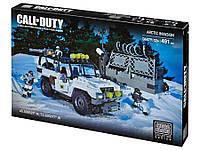 Конструктор Арктическое вторжение, Мега Блокс/Mega Bloks Call of Duty  (491 дет.)