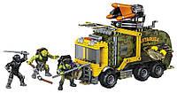 Конструктор Автобус Черепашек Ниндзя, Mega Bloks Teenage Mutant Ninja Turtles Battle Truck DPF82 (411 дет.)