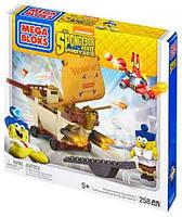 Конструктор Мега Блокс Бургермобиль Спанч Боба, Mega Bloks Sponge Bob (258 дет.), мегаблокс губка боб CND25