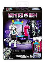 "Конструктор ""Cалон красоты Фрэнки Штейн"" Monster High, Mega Bloks, Мега блокс, мегаблокс, megabloks 56 дет."