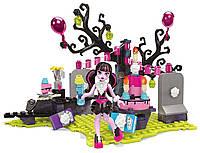 Конструктор День рождение Дракулауры Monster High, Mega Bloks/ Мега Блокс (153 дет.)