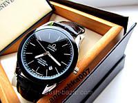 Мужские часы Omega Tissot (кварц,нержавеющая сталь,минеральное стекло,календарь,купить часы Omega Tissot куплю, фото 1