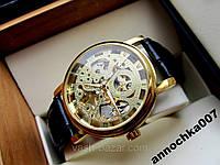 Механические часы Winner Gold Ориганал,механика Винер Золотые,мужские часы уникальный дизайн,купить часы куплю