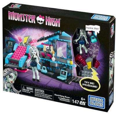 "Конструктор Мега Блокс Монстер Хай Комната Френки Monster High, Mega Bloks (147 дет.), мегаблокс CNF81 - ""Toyexpress"" в Днепре"