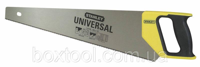 Ножовка по дереву 500 мм Stanley 1-20-008